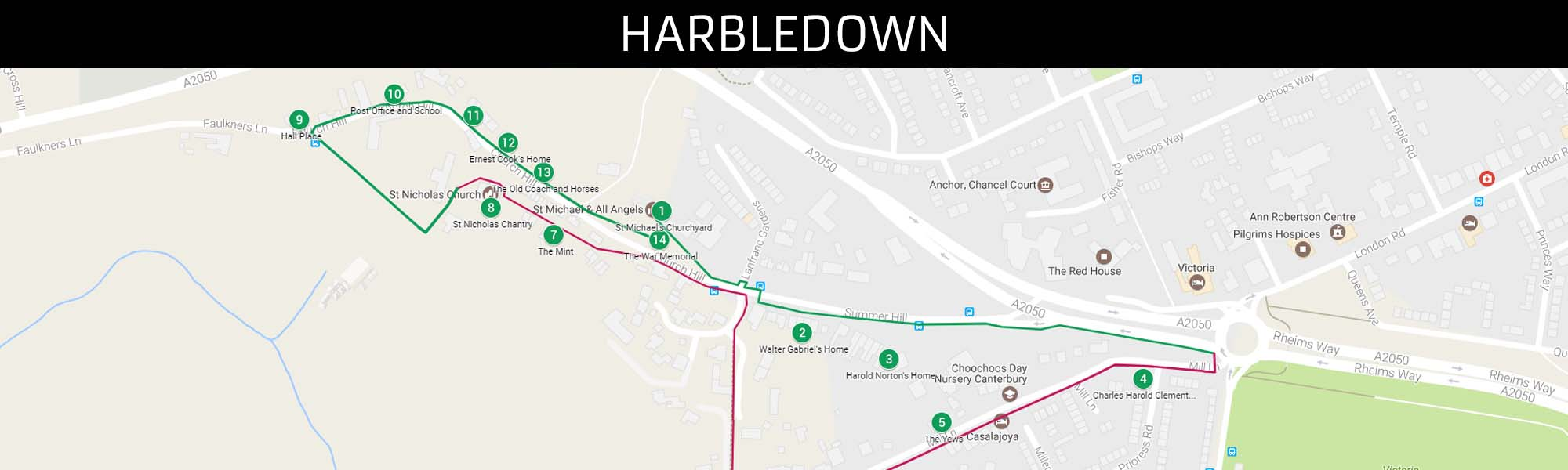 Harbledown Trail