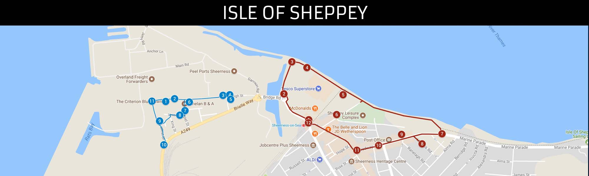 Isle of Sheppey Trail