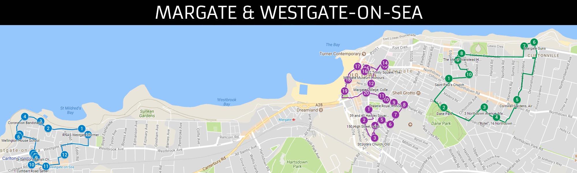 Margate & Westgate-on-Sea Trails