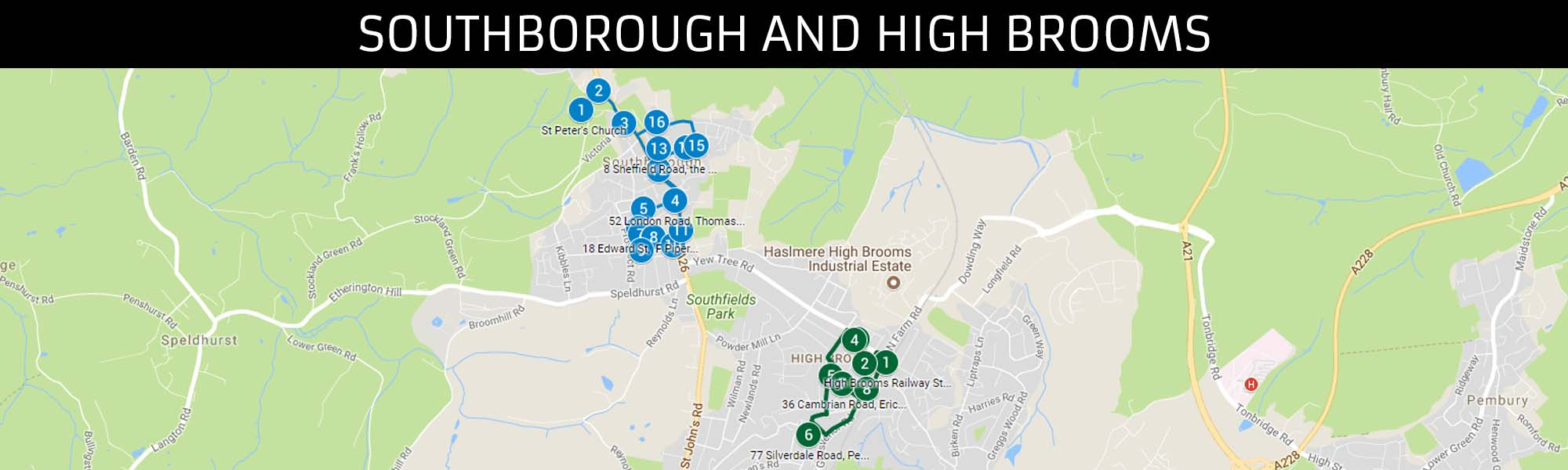 Southborough and High Brooms Trail