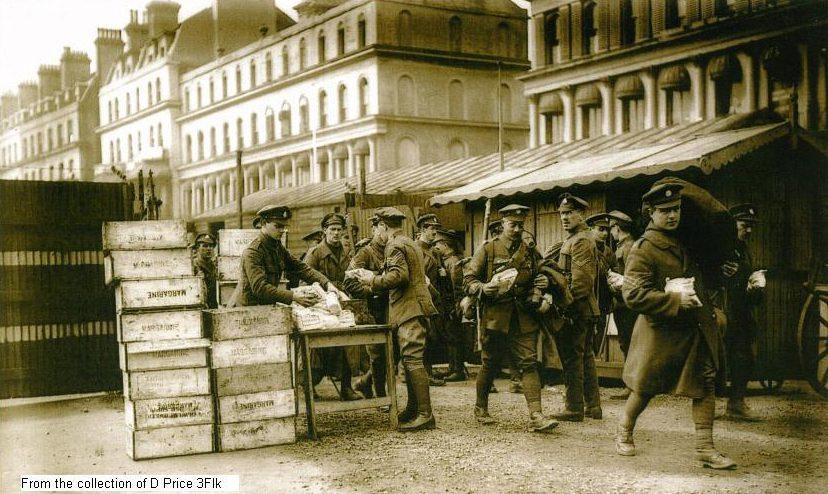 1918 folkestone rest camp supplies