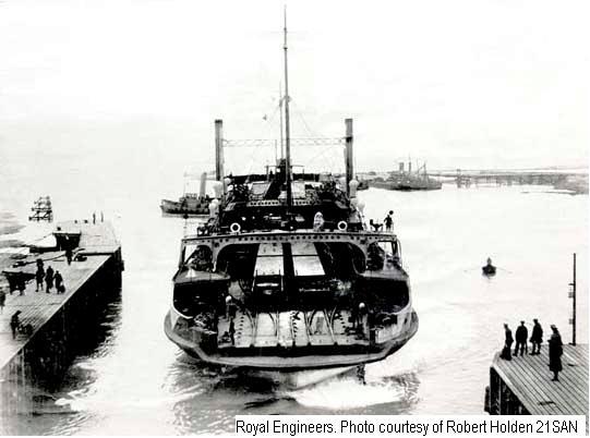 21SAN - Ro-Ro ferry RichboroughPort