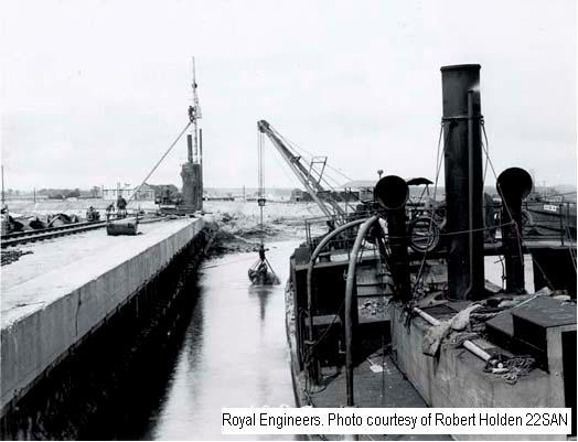 22SAN - Richborough Port - Dredging 1916
