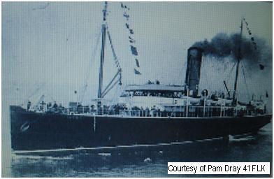 41FLK - The HMS RAMSEY