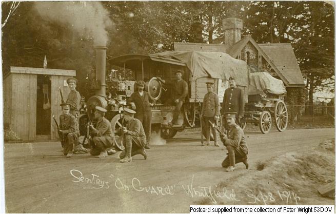 53DOV - Whitfield Sentry Guard September 1914