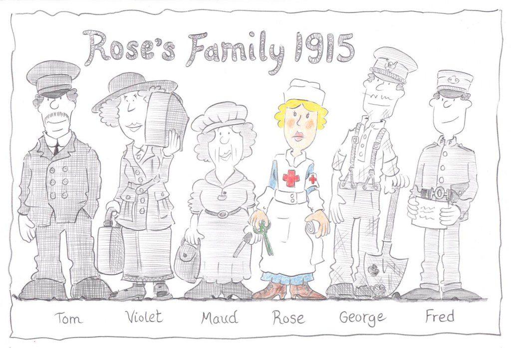 Rose's Family - 1915
