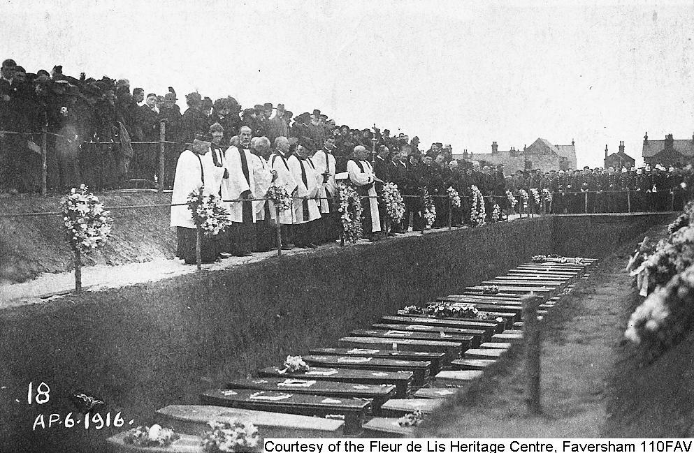 110FAV - Cemetery Mass Burial - Ceremony