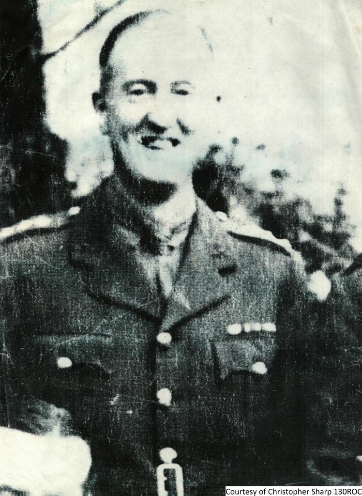 130ROC - Lieutenant Percival M Sharp