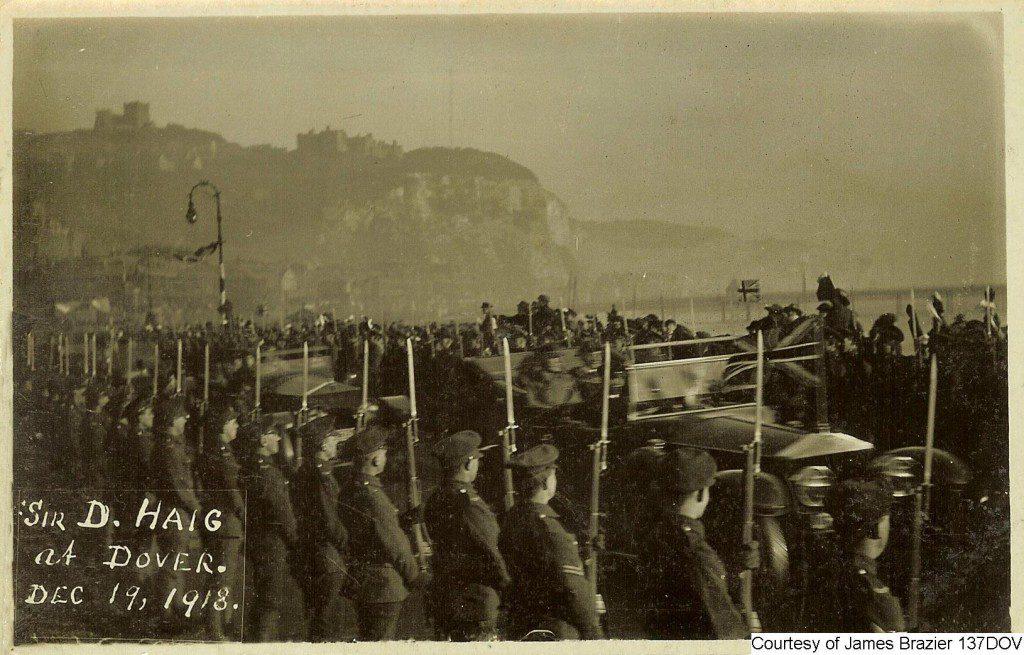 137DOV - Homecoming of Sir Douglas (Earl) Haig December 1918