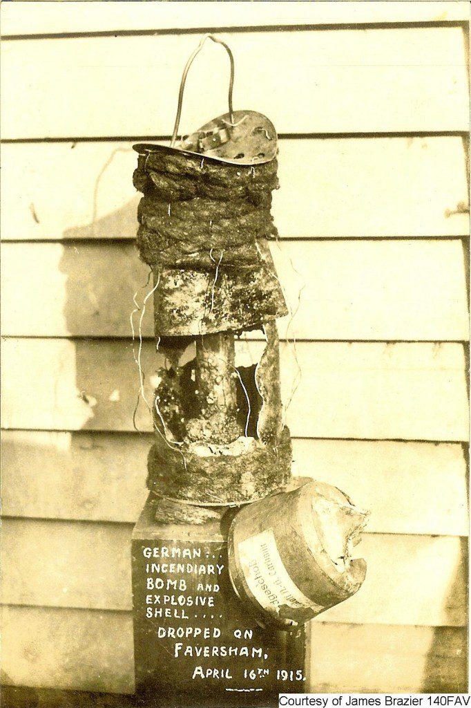 140FAV - German Incendiary Bomb