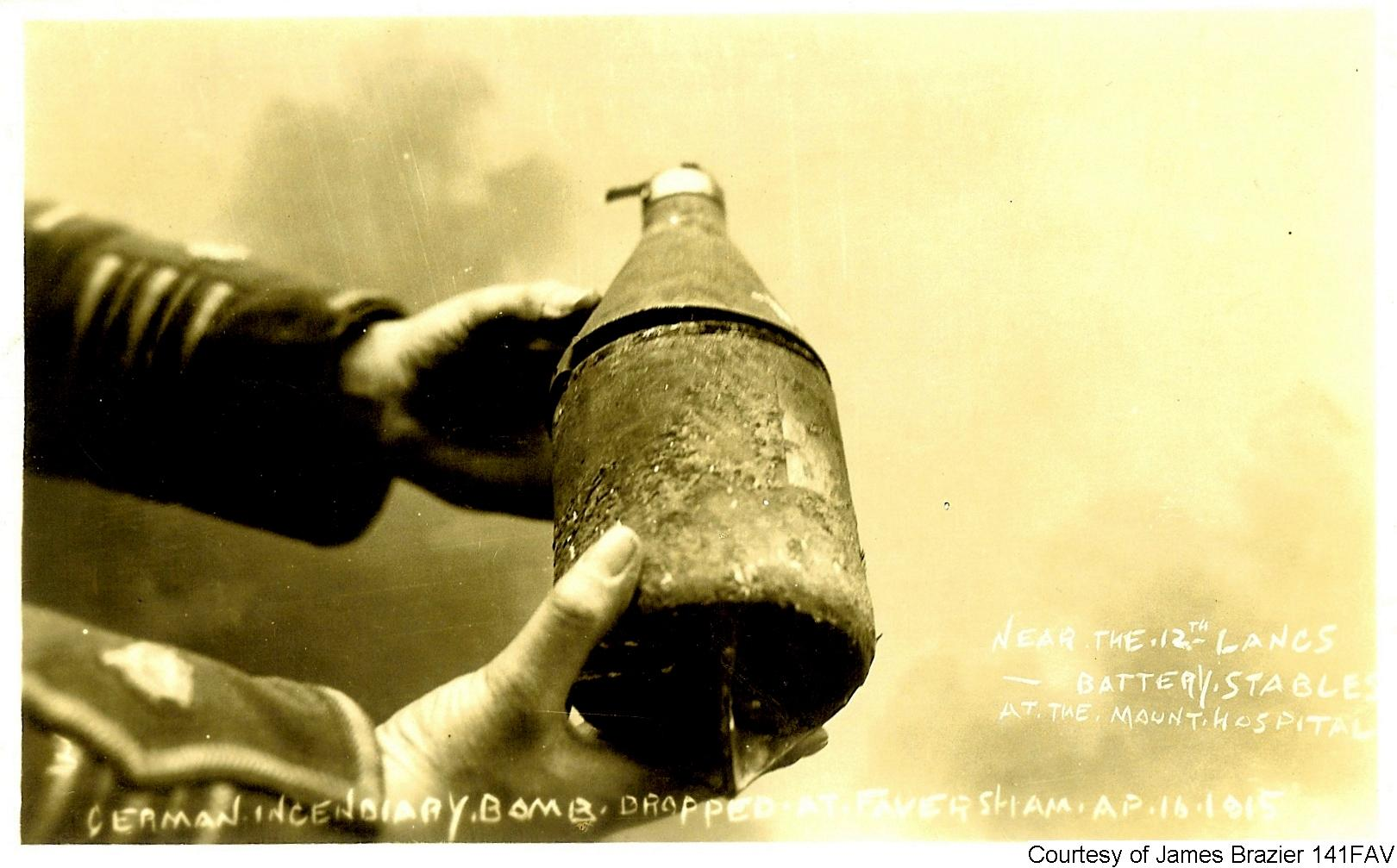 141FAV - German Incendiary Bomb