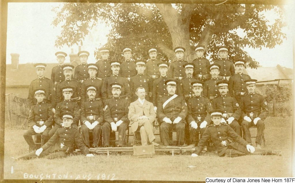 187F - Fred Horn in The Boughton Ambulance Brigade