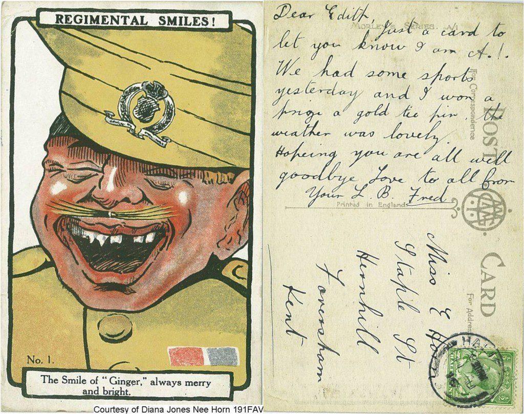 191FAV - The Smile Of A Ginger (Front & Back)