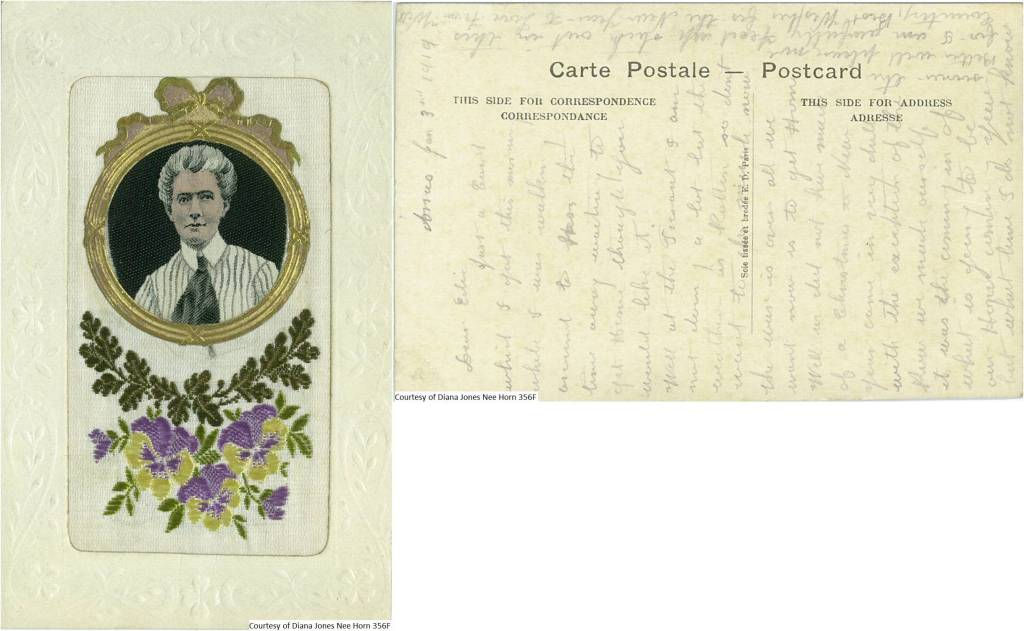 356F - Edith Cavell Postcard (Front & Back)