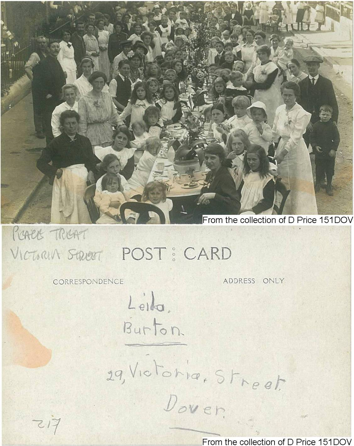 151DOV - Street Party (Postcard) (Front & Back)