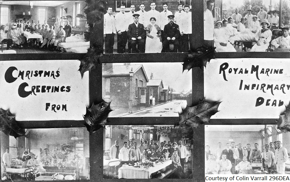 296DEA - A WW1 Christmas greetings postcard