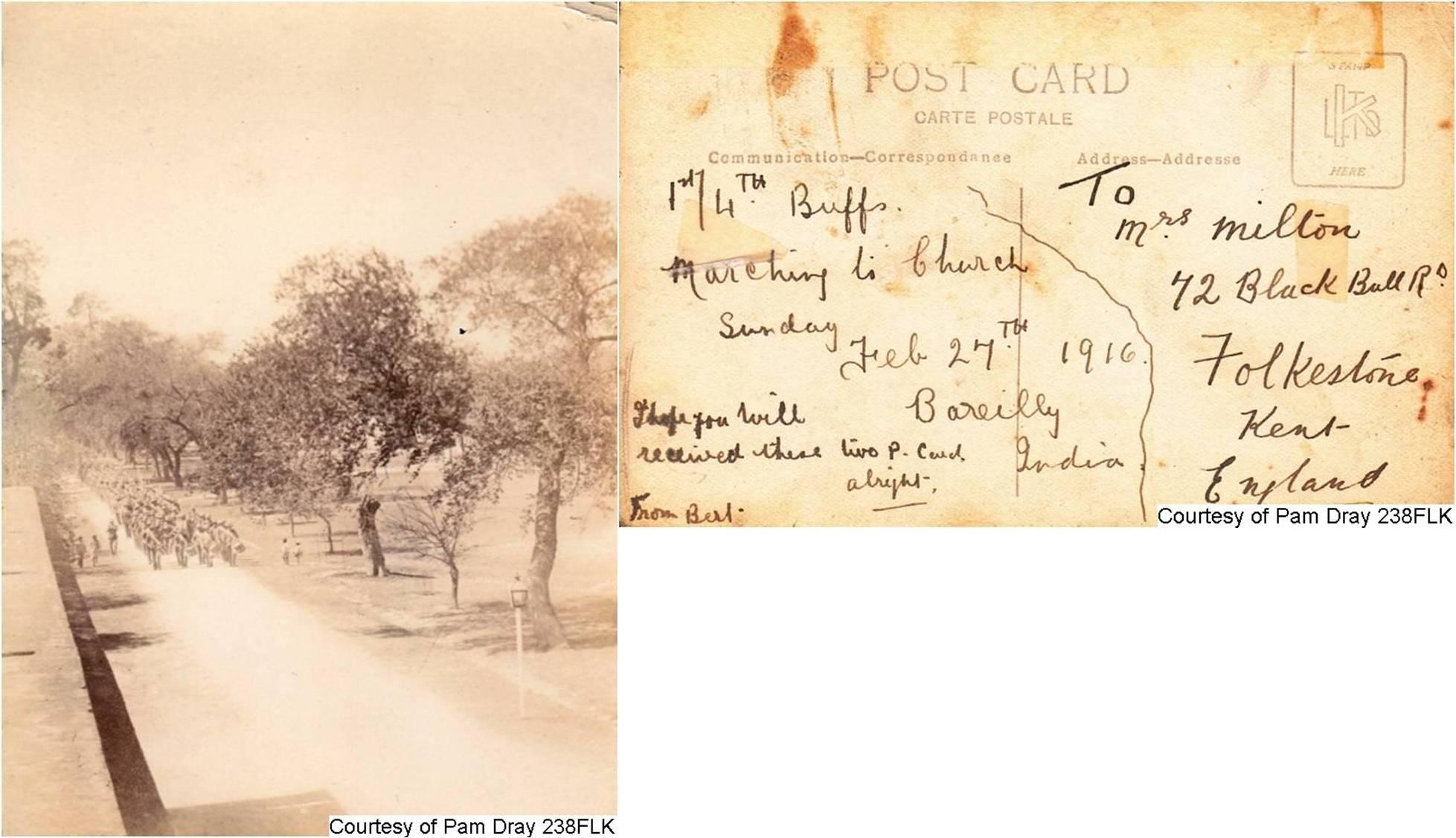 238FLK - Herbert's Postcard (Front & Back)