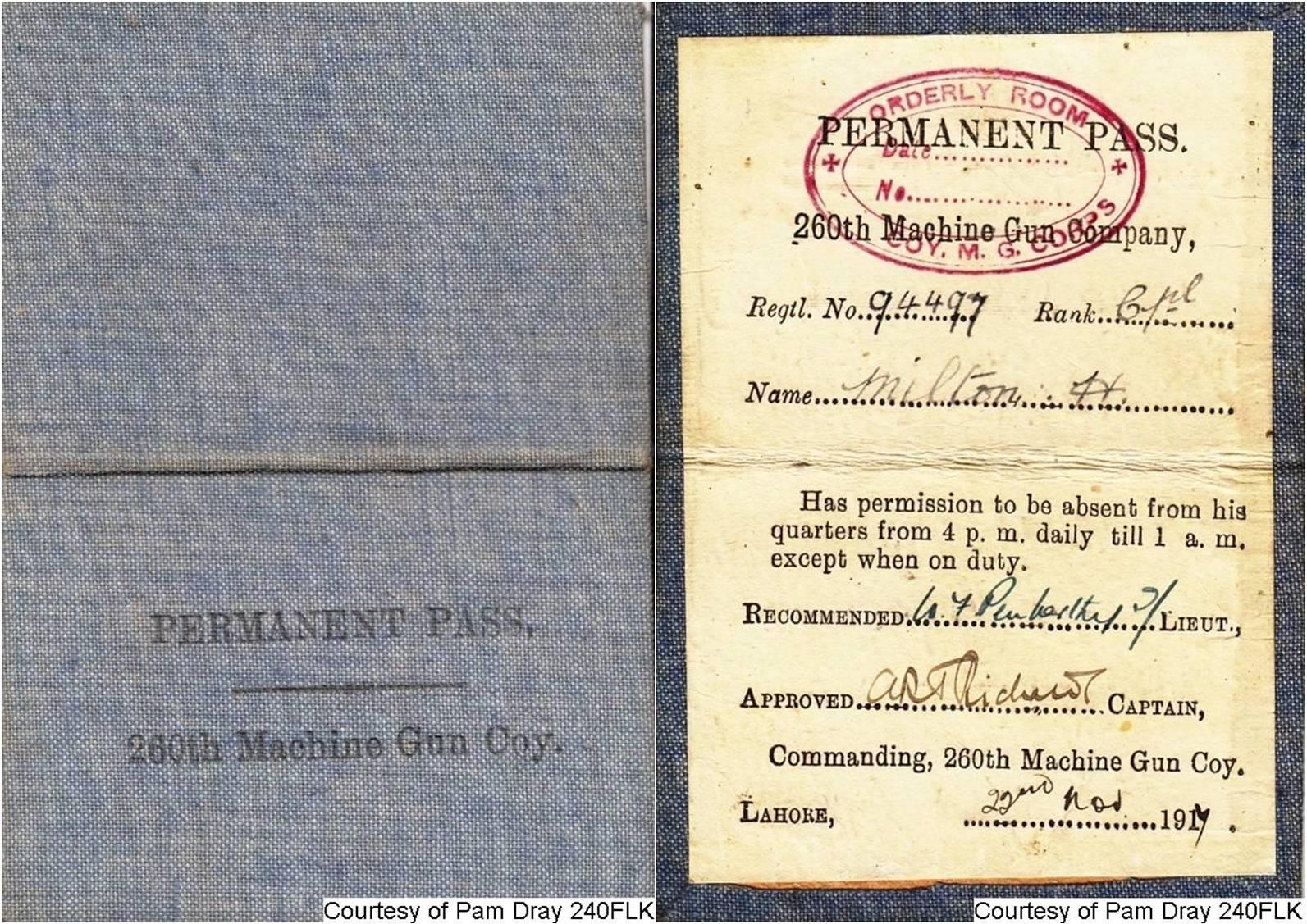 240FLK - Herbert's Perment Pass (Page 1 & 2)
