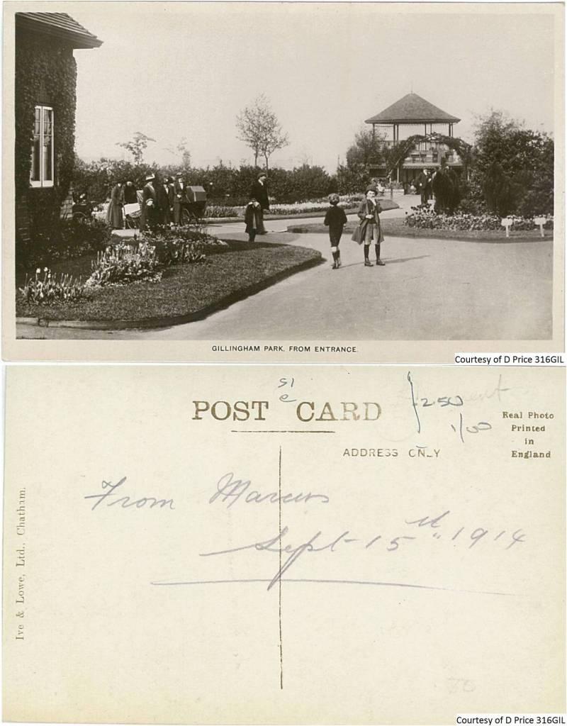 316GIL - Gillingham Park From Entrance (Fornt & Back)