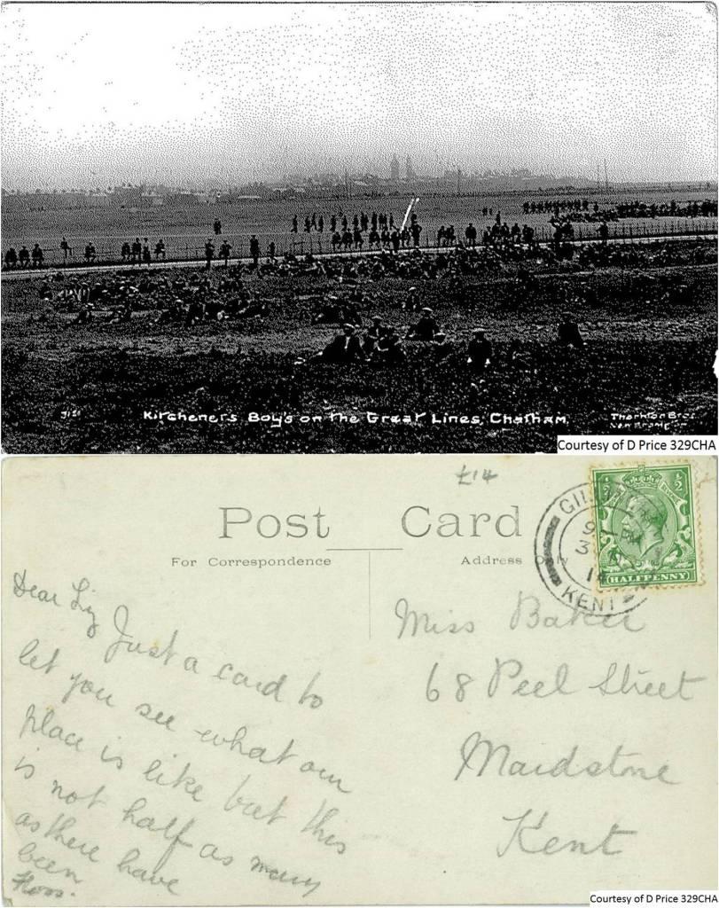 329CHA - Kitcheners Boys (Front & Back)