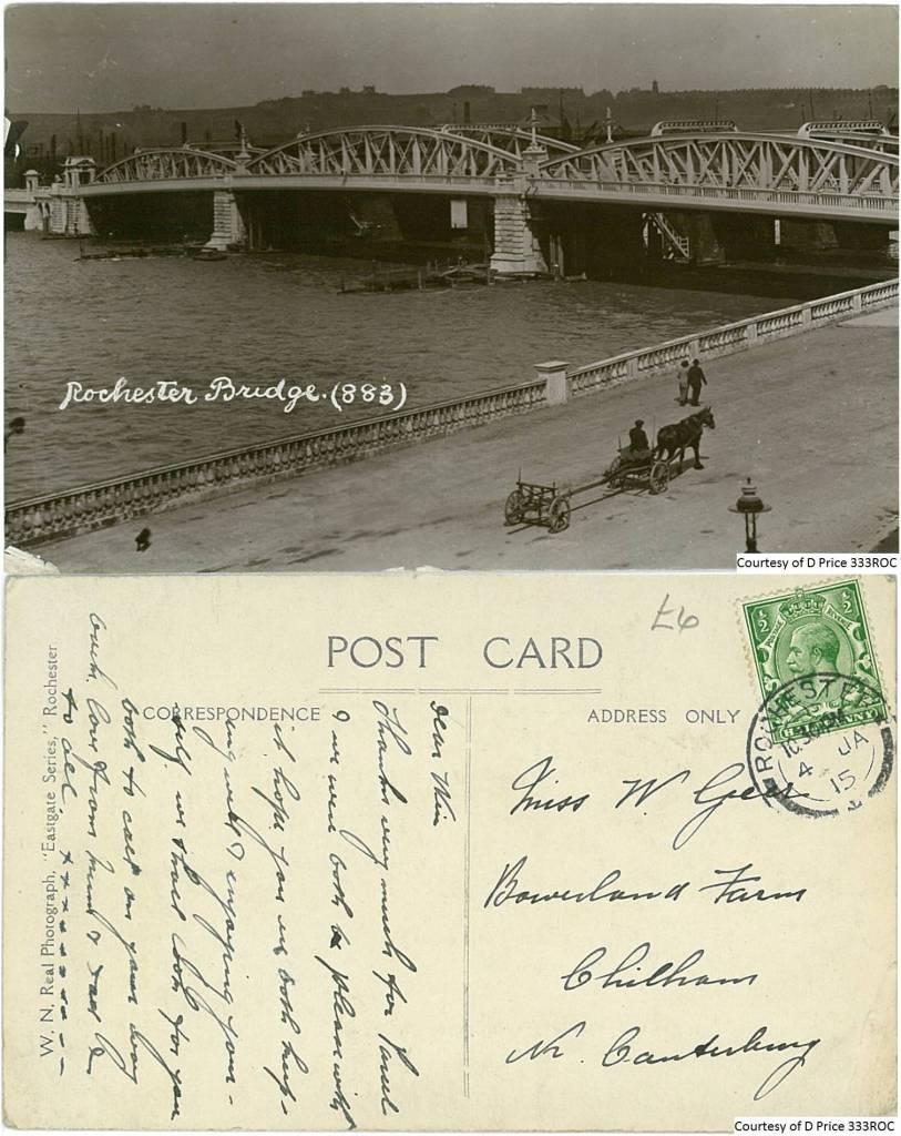 333ROC - Rochester Bridge (Front& Back)