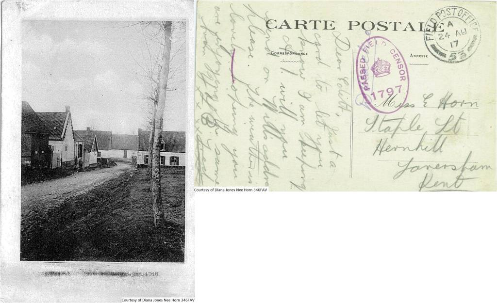 346FAV – Carte Postale (Front & Back)