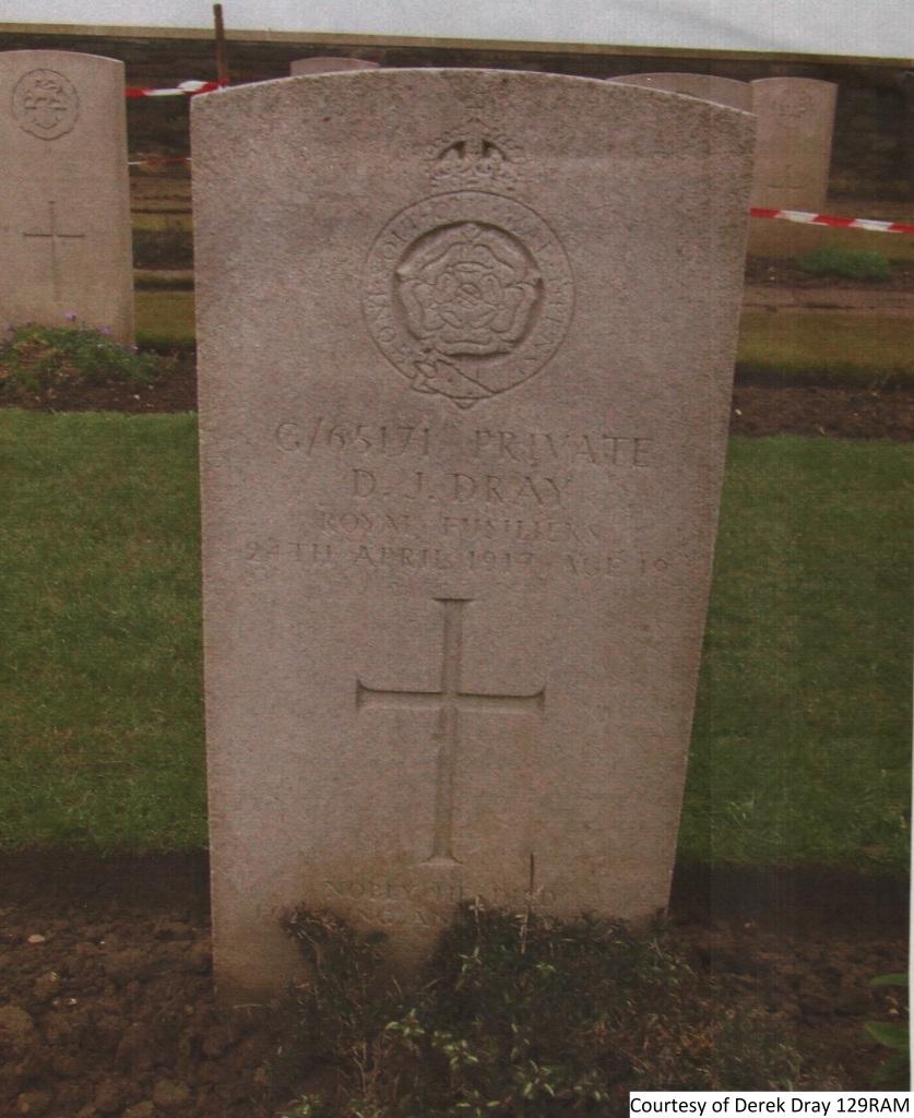 129RAM - Douglas J Dray Grave