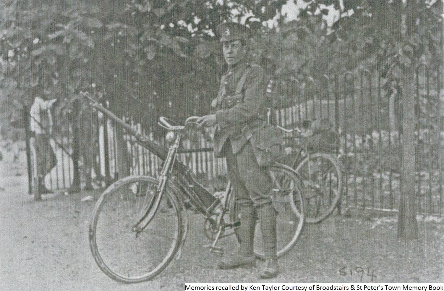 361RAM - Percy Taylor Kent Cyclist