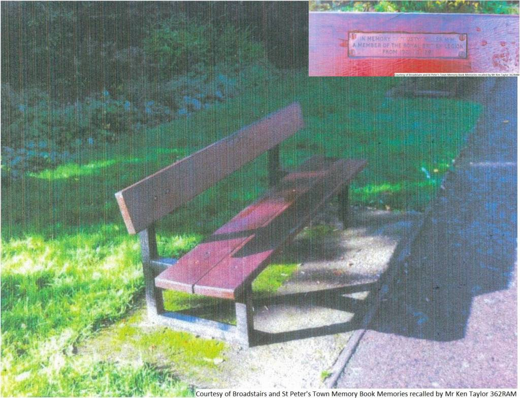 362RAM - In Memory of 'Dusty' Miller - (Whole Bench)