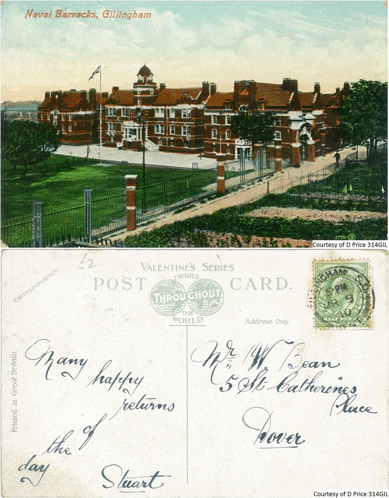 314GIL - Naval Barracks (Front & Back)