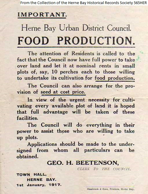 565HER - WW1 Food Production 2