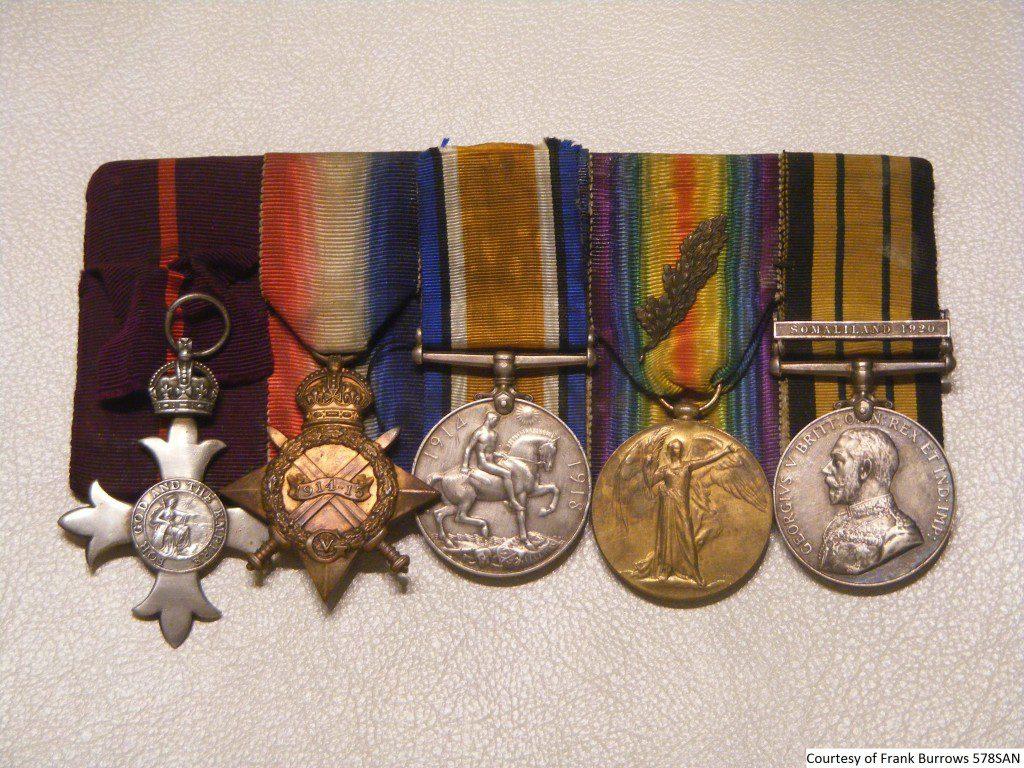 578SAN - Frank Jezzard WW1 Medals 1