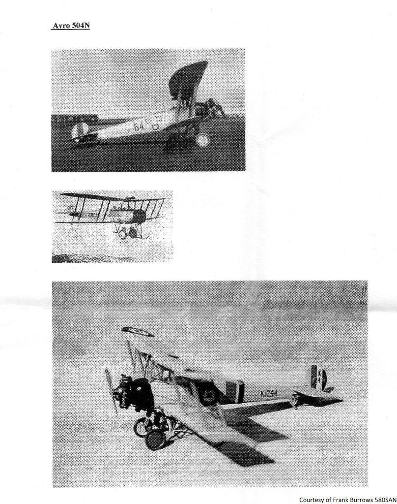 580SAN - Avro 504N