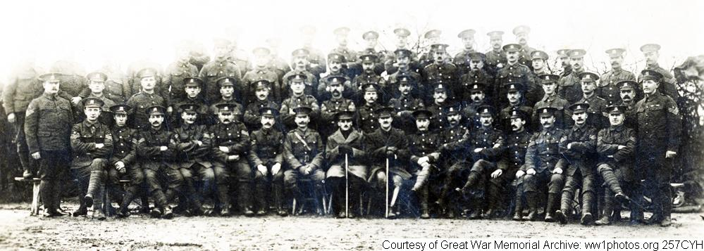 257CYH - East Kent Regiment