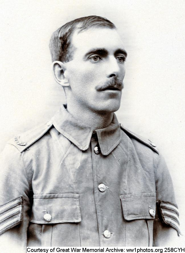 258CYH - Unnamed Sergeant Kent Regiment