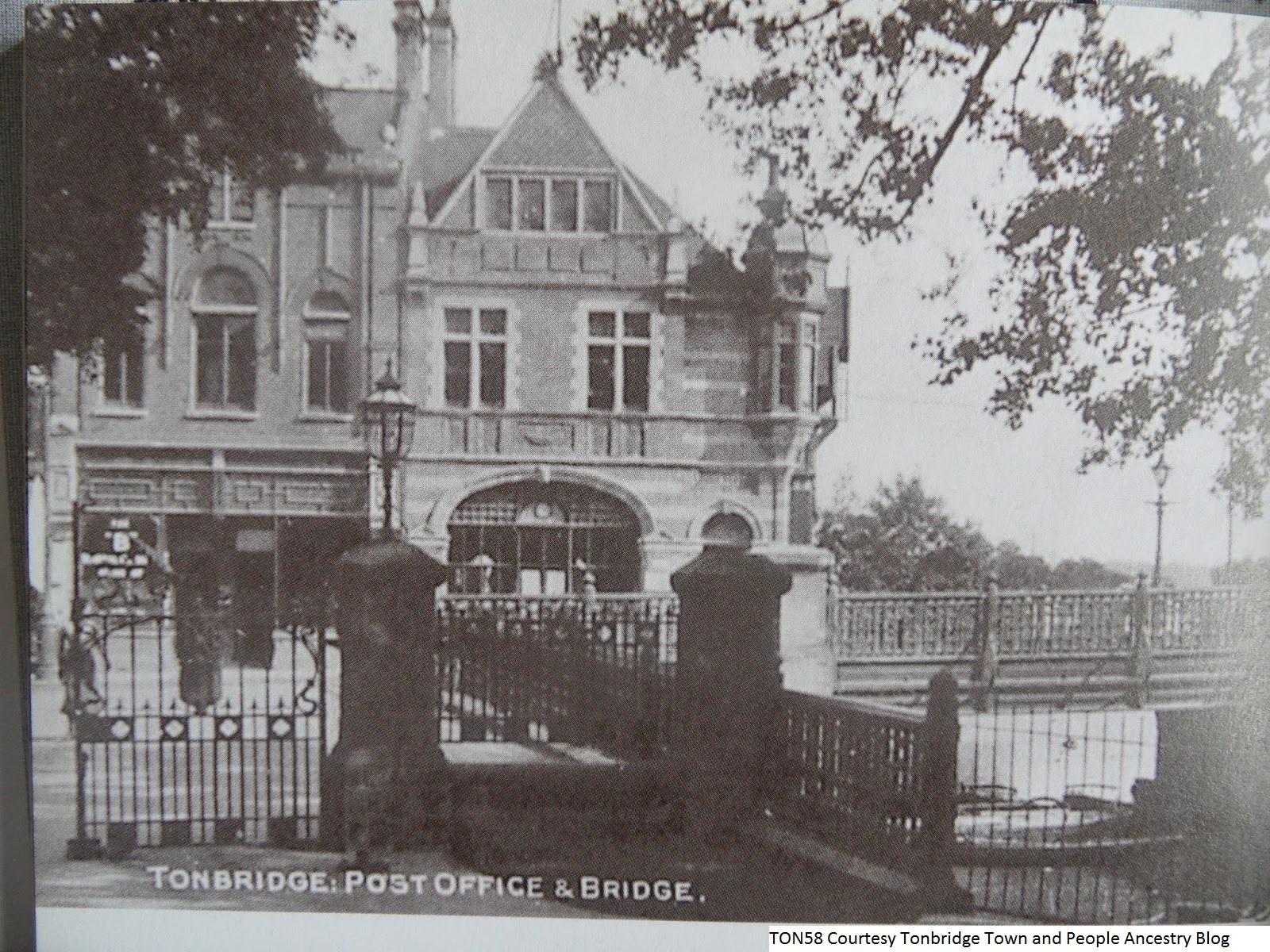 Old Post Office and Bridge