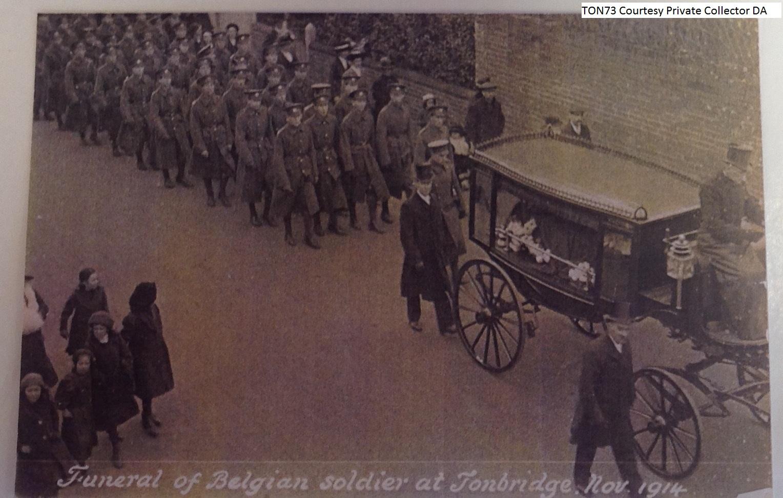Belgian Soldier Funeral