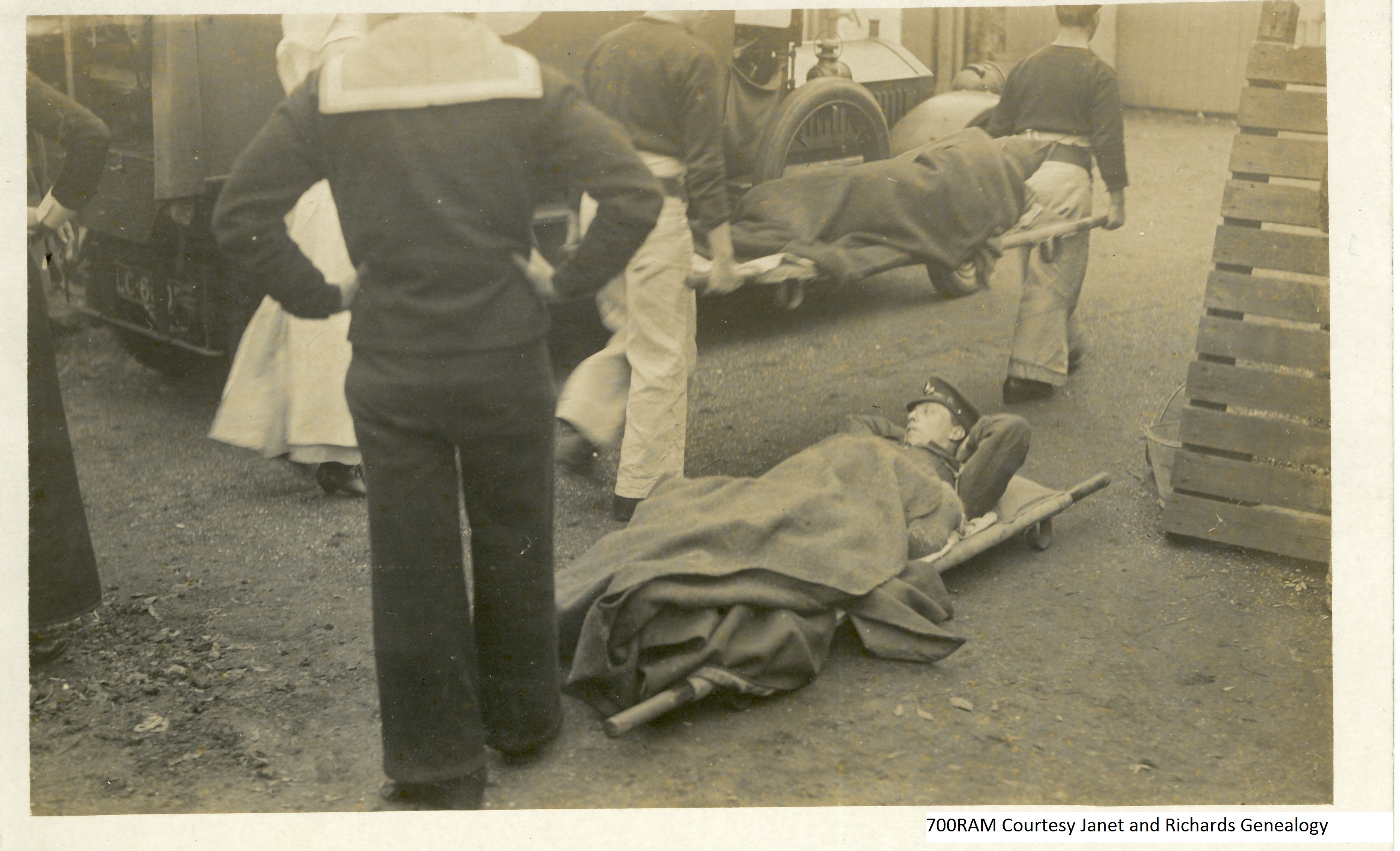 Role of Stretcher Bearers