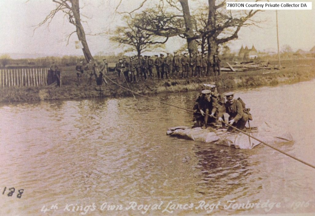 Troops Training by River
