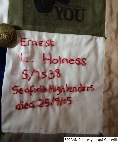 Ernest Holness