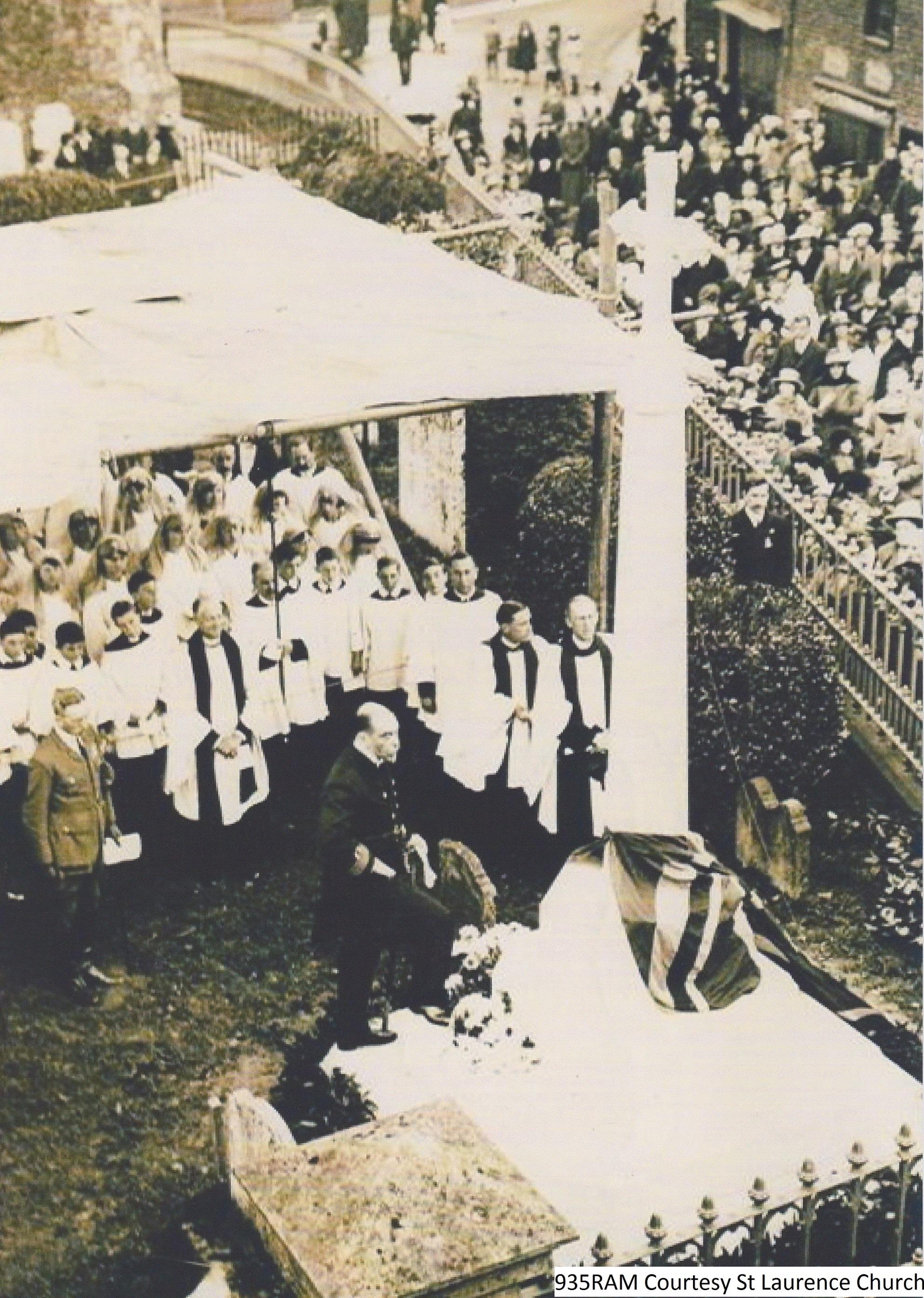 WW1 Memorial Dedication
