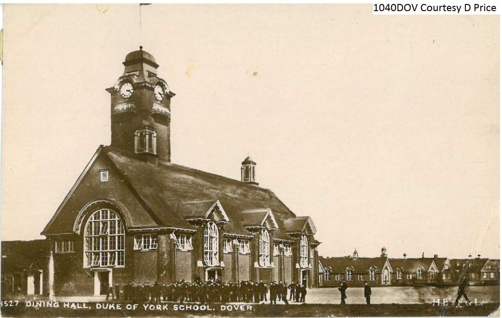 Dining Hall,Duke of York School