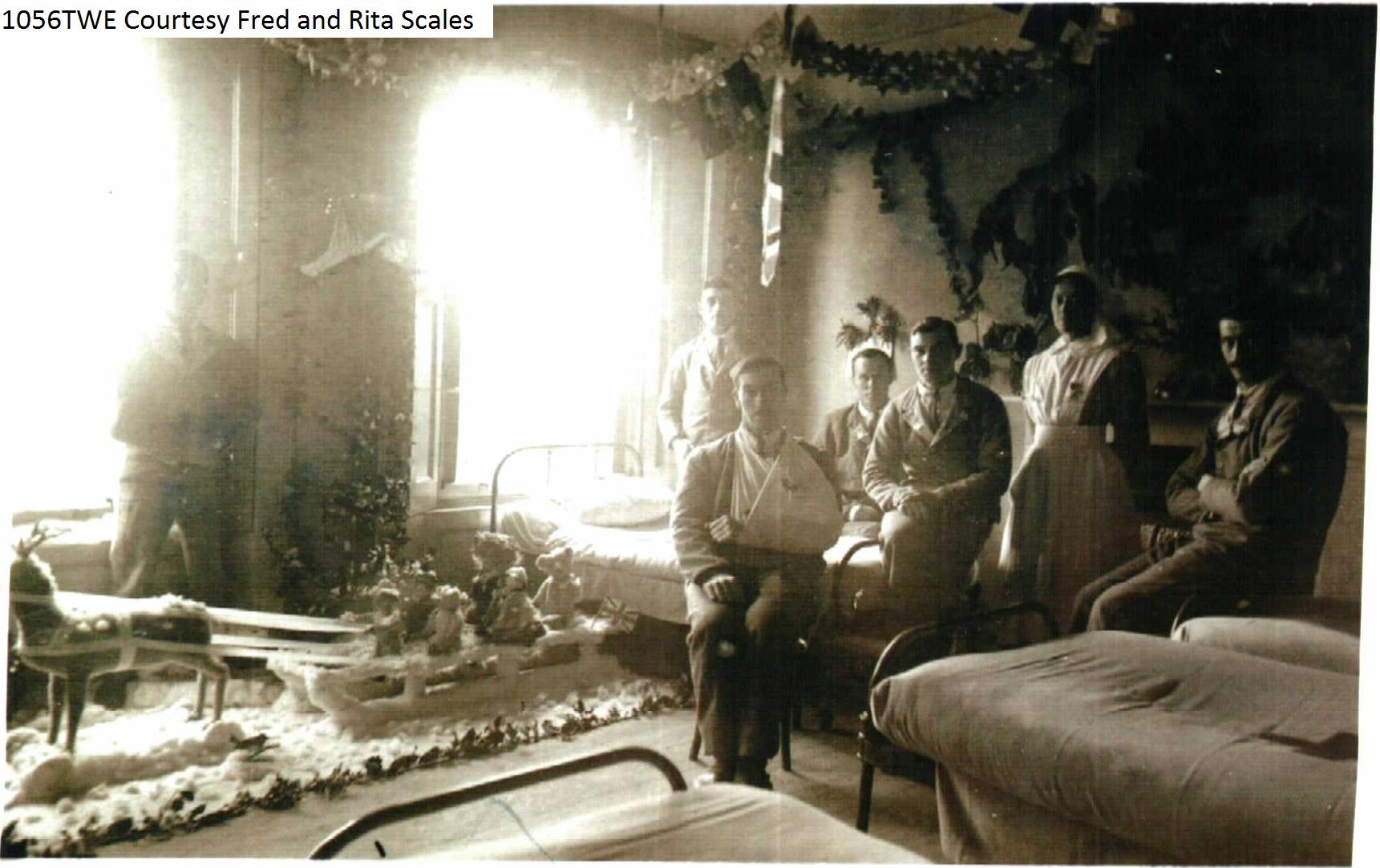 Soldiers in Hospital