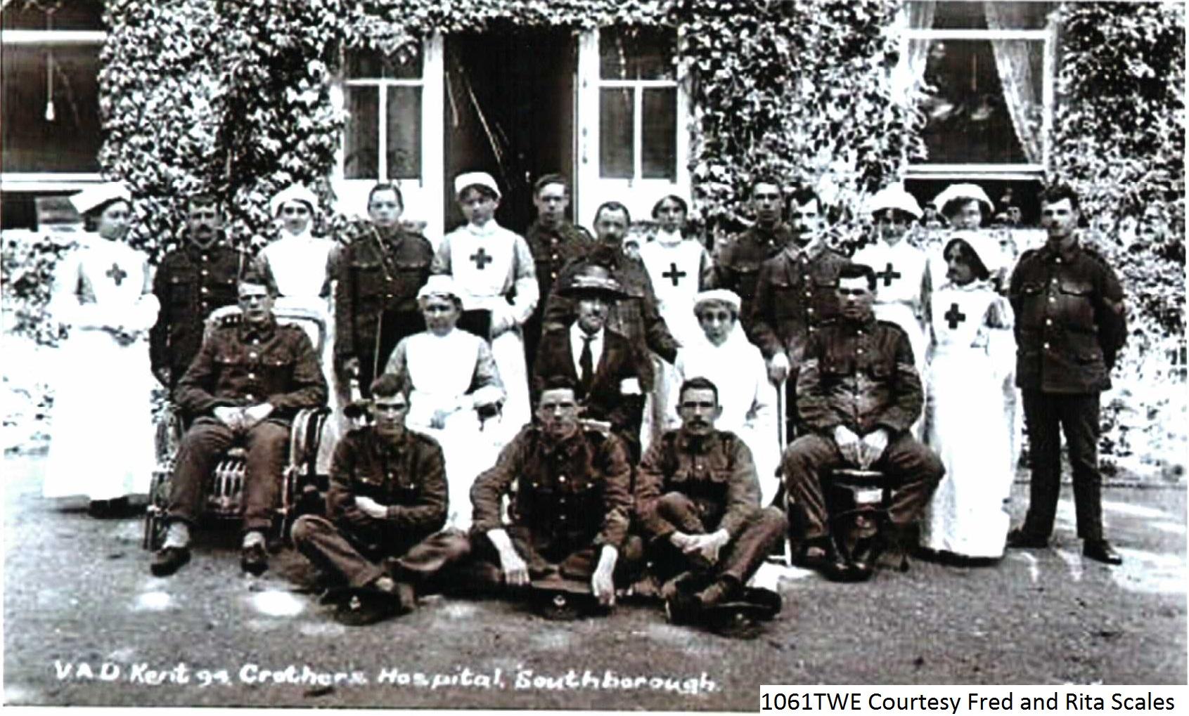 Group Photo Outside Hospital