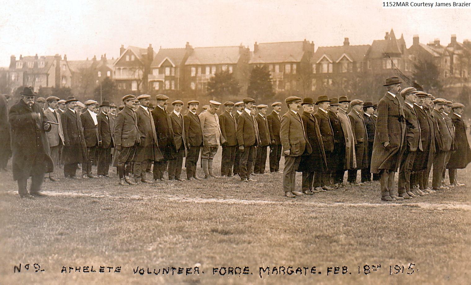 Athelete Volunteer Force in Dane Park