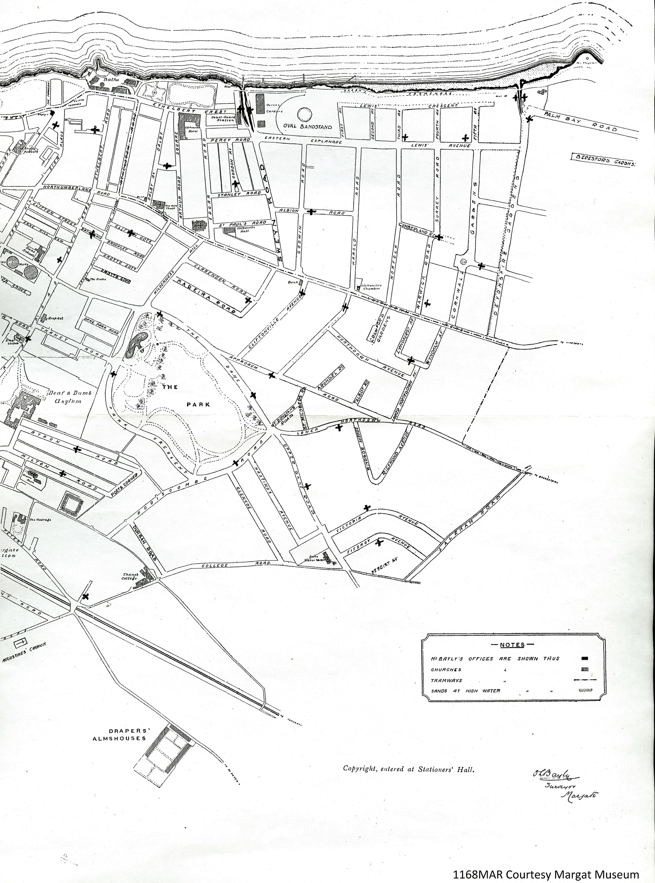 Map of Dug-outs