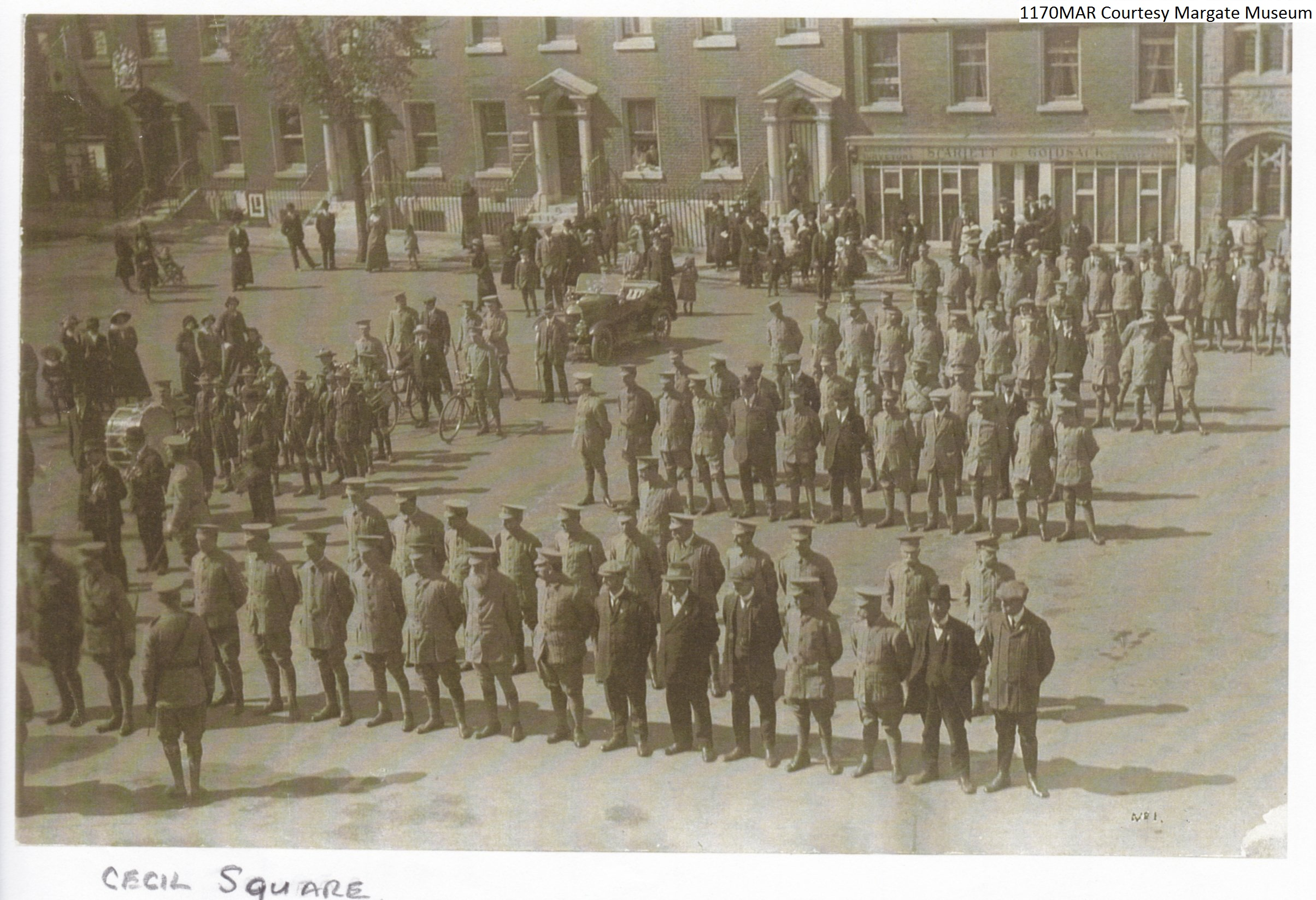 Soldiers Non Uniform Cecil Sq.