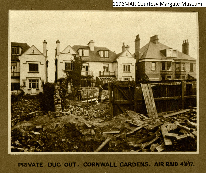 Cornwall Gardens Dug-out