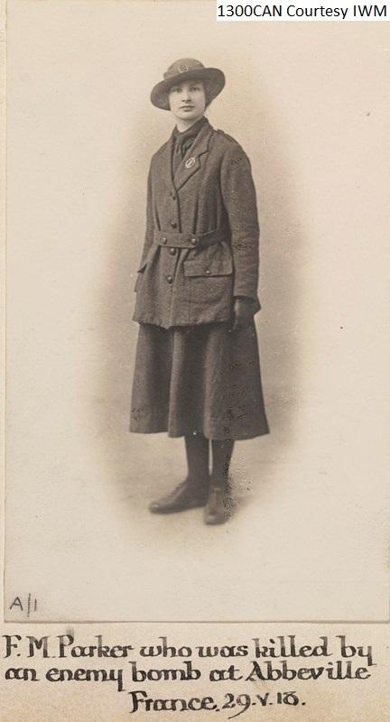 Ethel F M Parker