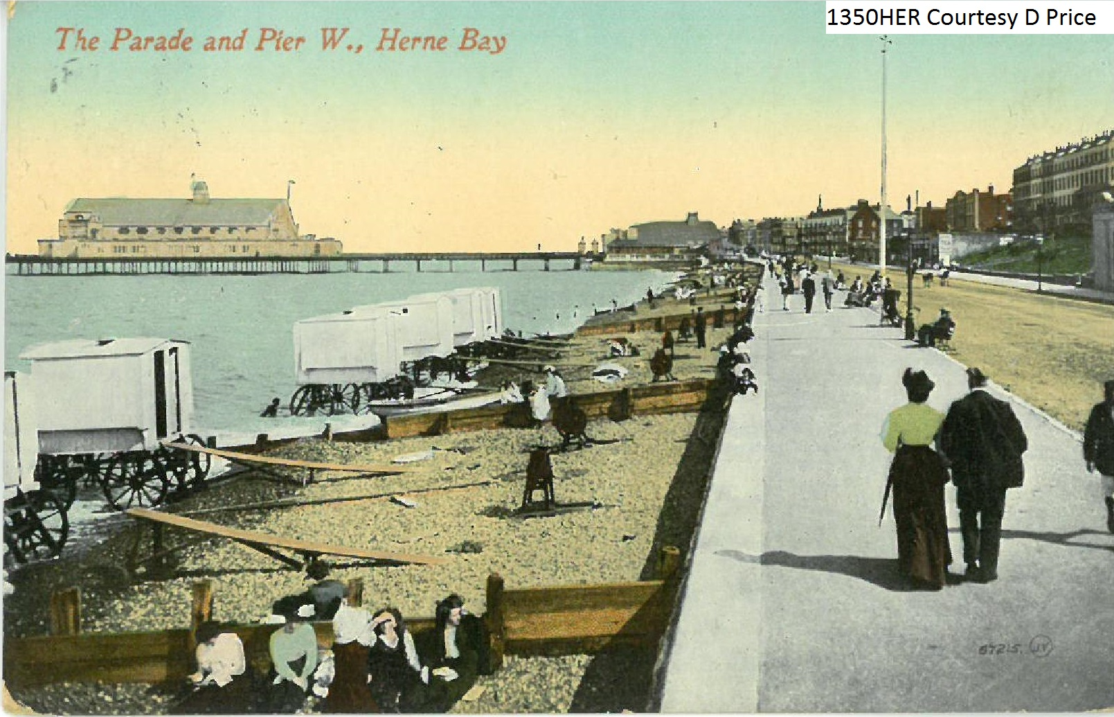 The Parade and Pier, Hearne Bay